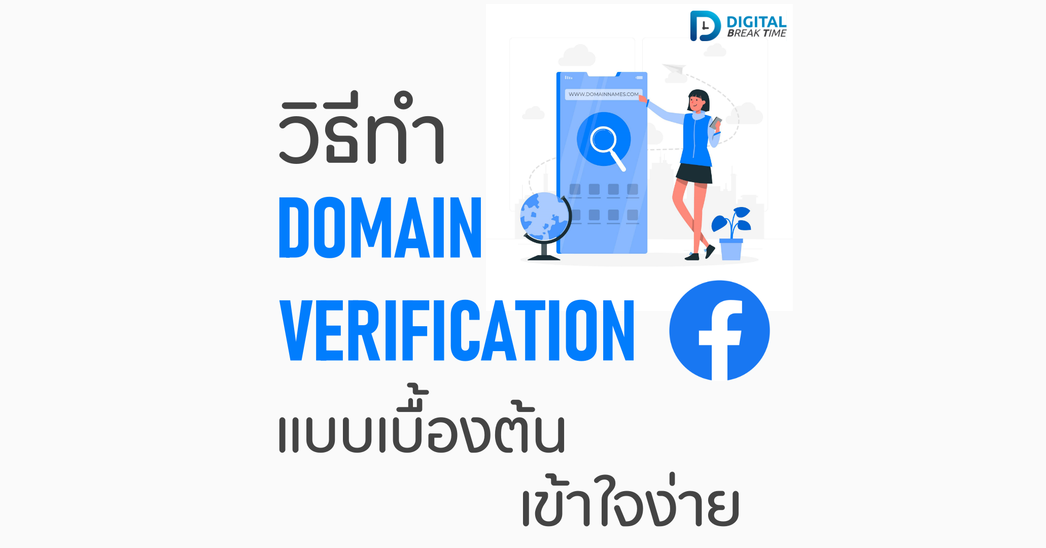 วิธีทำ Domain Verification cover