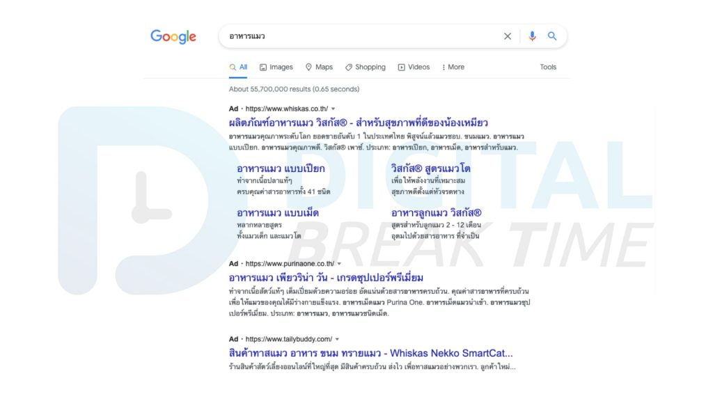 วิเคราะห์ Search Ads